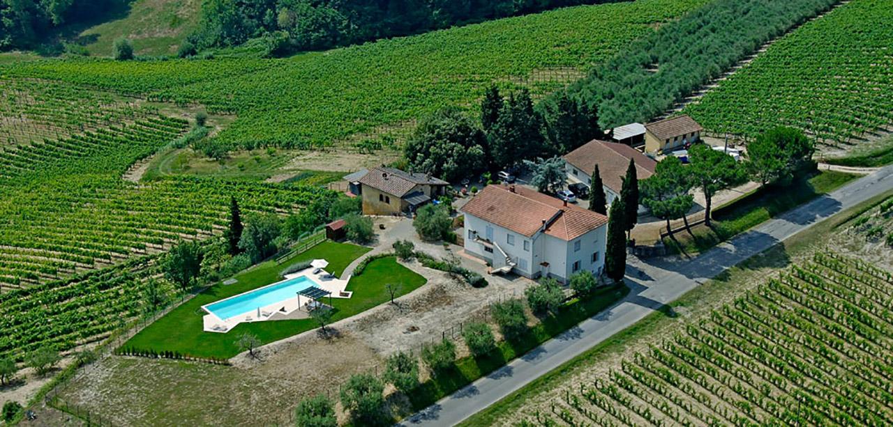 Fornacelle agriturismo con piscina a san gimignano vendita diretta vino chianti e vernaccia - Agriturismo san gimignano con piscina ...